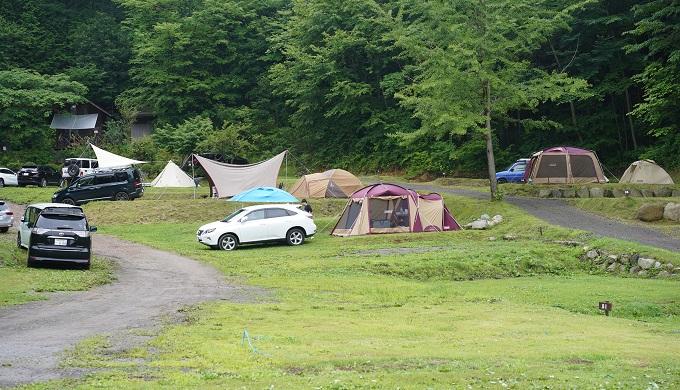hoshinohurumori camp site 2